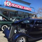 Doughnuts, spanakopita, and classic cars at Heav'nly Donuts