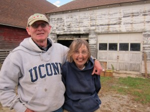 Paul and JoAnn Desrochers,18th Century Purity Farm At The Hall Homestead; Plainfield, CT